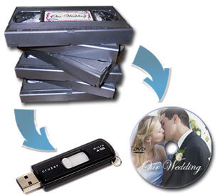 Записи от видео касети на флаш памет